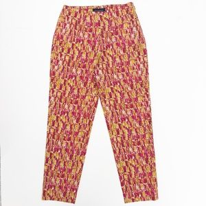 Piazza Sempione Audrey Cropped Ankle Pants Size 2